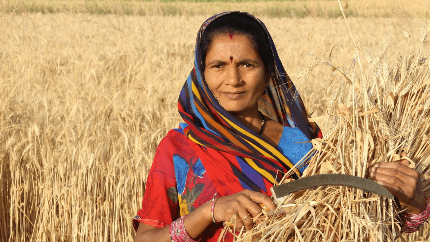 Video Image: Woman farmer in India