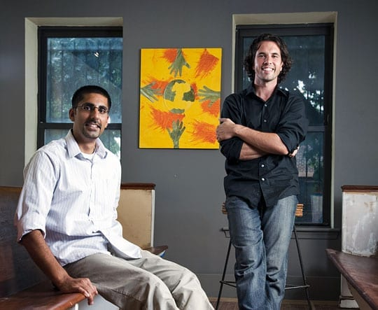 Nick Villele and Raj Ratwani in their