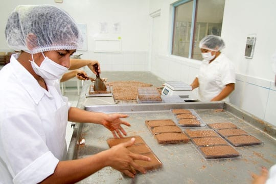 Facts about chocolate industry