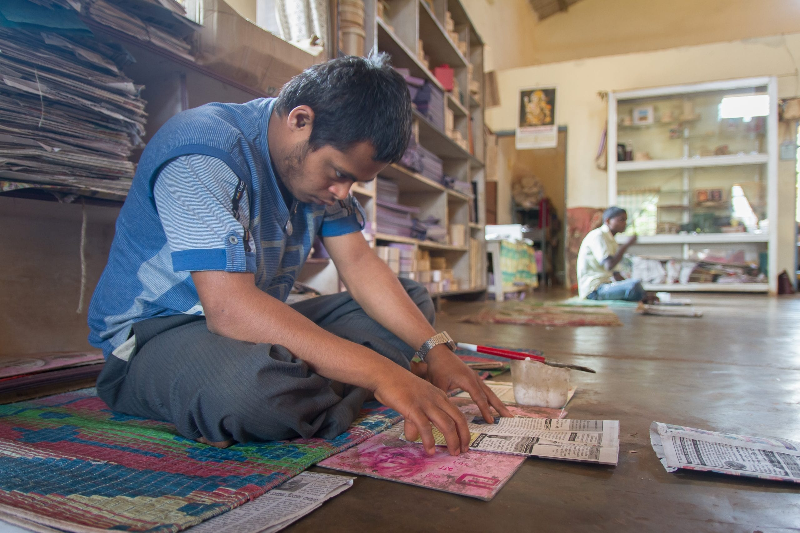 Chetana, a TechnoServe business plan competition winner in southern India, is a thriving business creating meaningful economic opportunities for disabled people in the community.