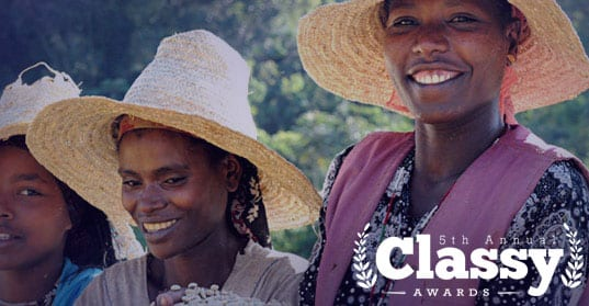 TechnoServe's Coffee Initiative Recognized by the Annual CLASSY Awards