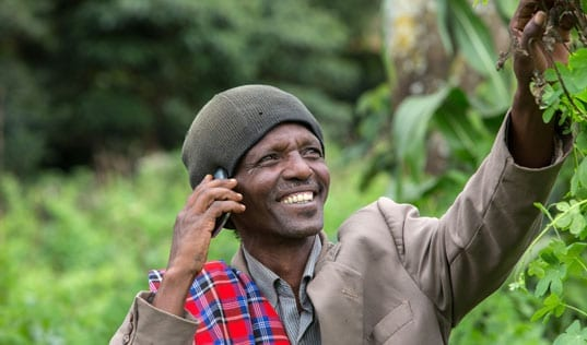 A New Agreement Will Support Tanzanian Farmers Through Mobile Technology