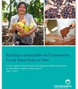 sustainable and competitive cocoa value chain