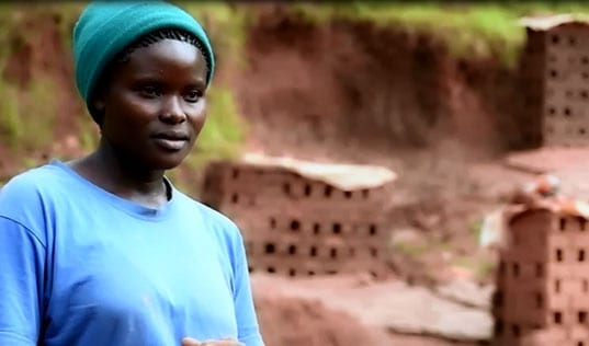 Building Her Dream, One Brick at a Time