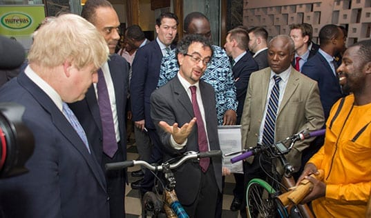 British Foreign Secretary Meets Ghanaian Entrepreneurs