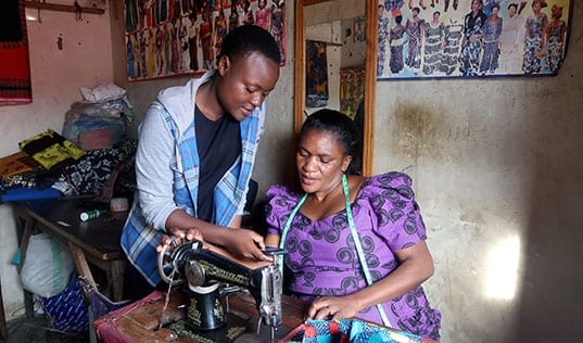 Incubating Success: Young Tanzanian Entrepreneur Mentors Other Business Women