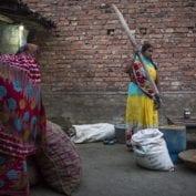 Vegetable farmer Poonam Devi