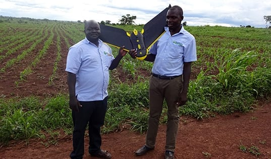 Can Drones Change Africa's Agricultural Future?
