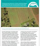 Case study eyes in the sky for African agriculture water resources and urban planning