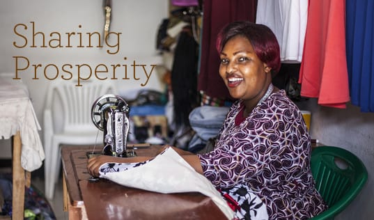 Sharing Prosperity: 2017 Impact Report