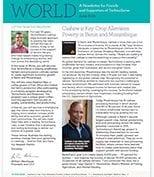 World newsletter in June