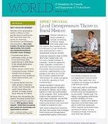 World newsletter in march
