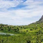 Malawi landscape and mountainside
