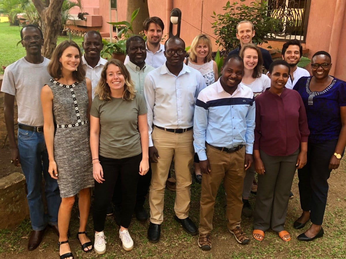 Careers at technoserve- photo of Africa Coffee Team -