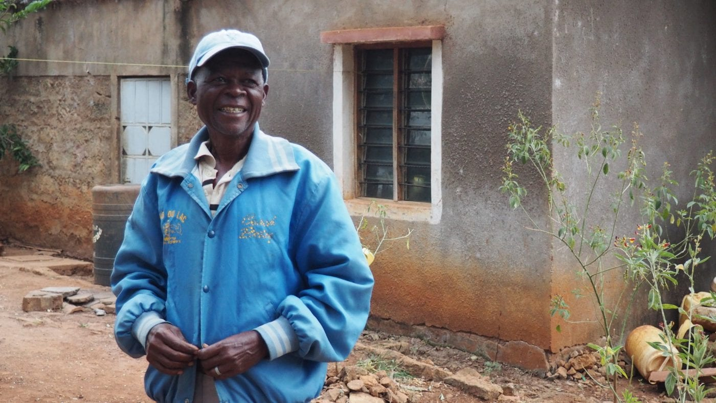 Dominic Karauri, participant in Project Nurture in Kenya