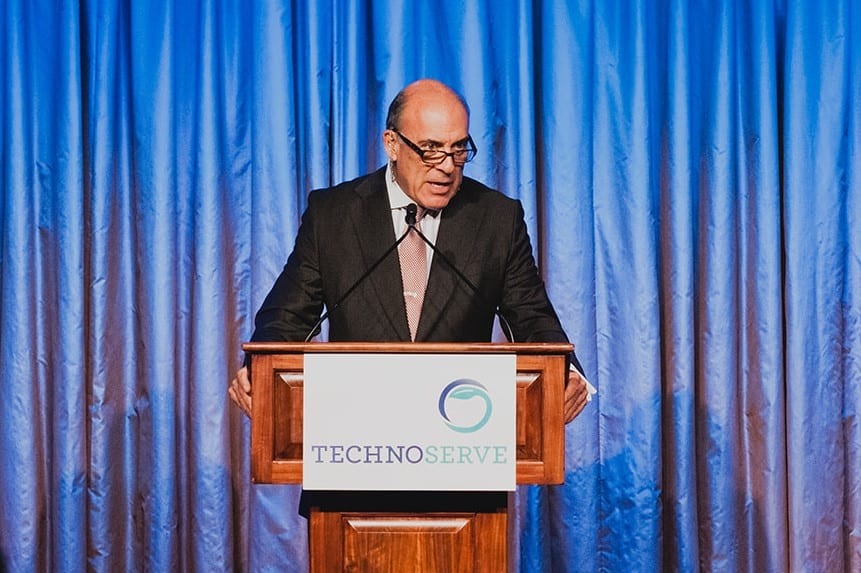 Muhtar Kent, Chairman and Former C.E.O., at TechnoServe's 50th Anniversary Gala
