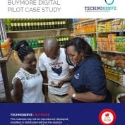 TechnoServe Buymore Digital Pilot Case Study Cover