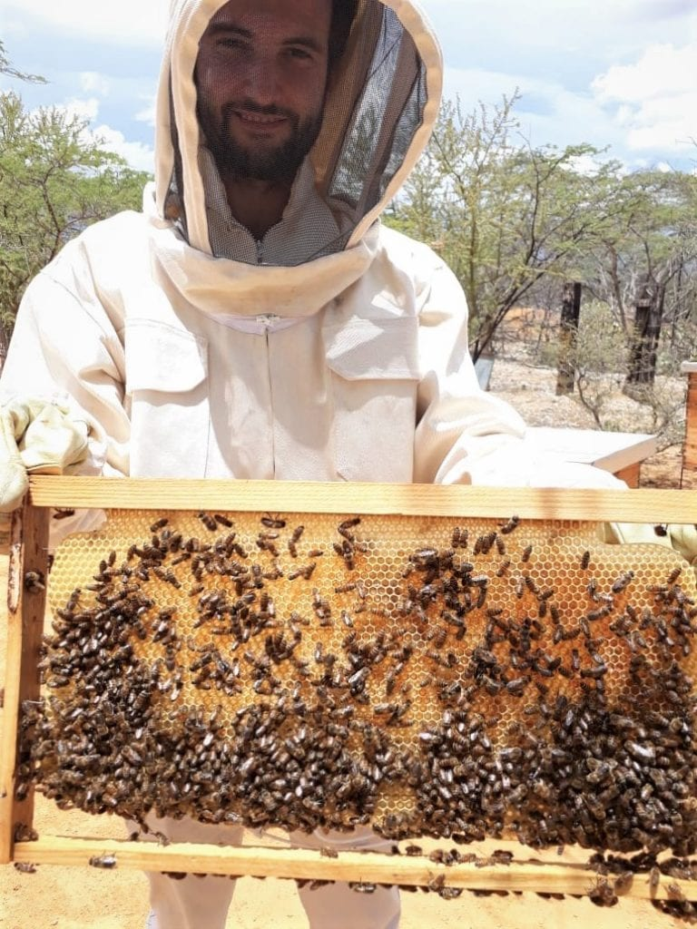 TechnoServe Fellow in Colombia assists beekeepers
