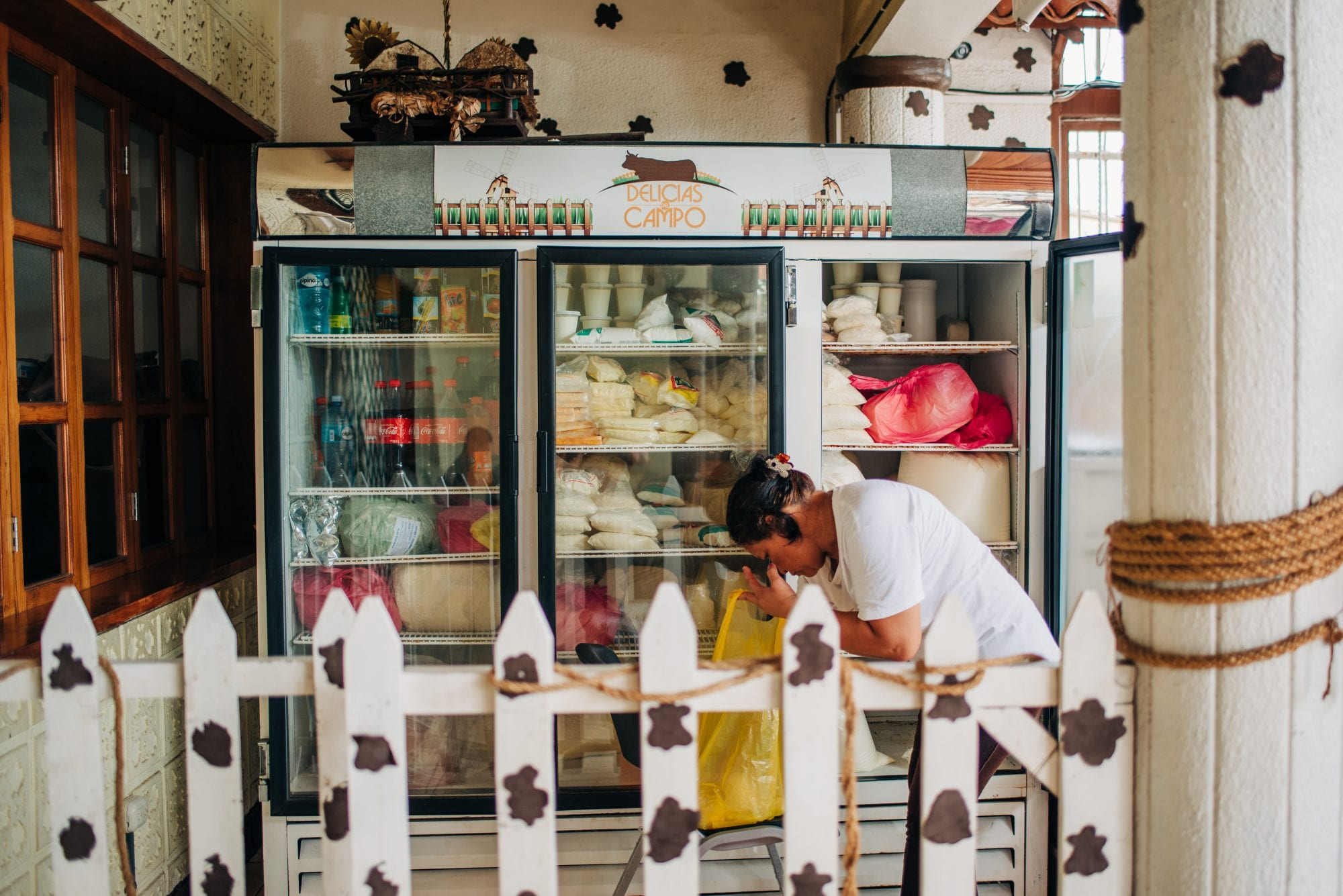 Idalia's shop in Managua, Nicaragua