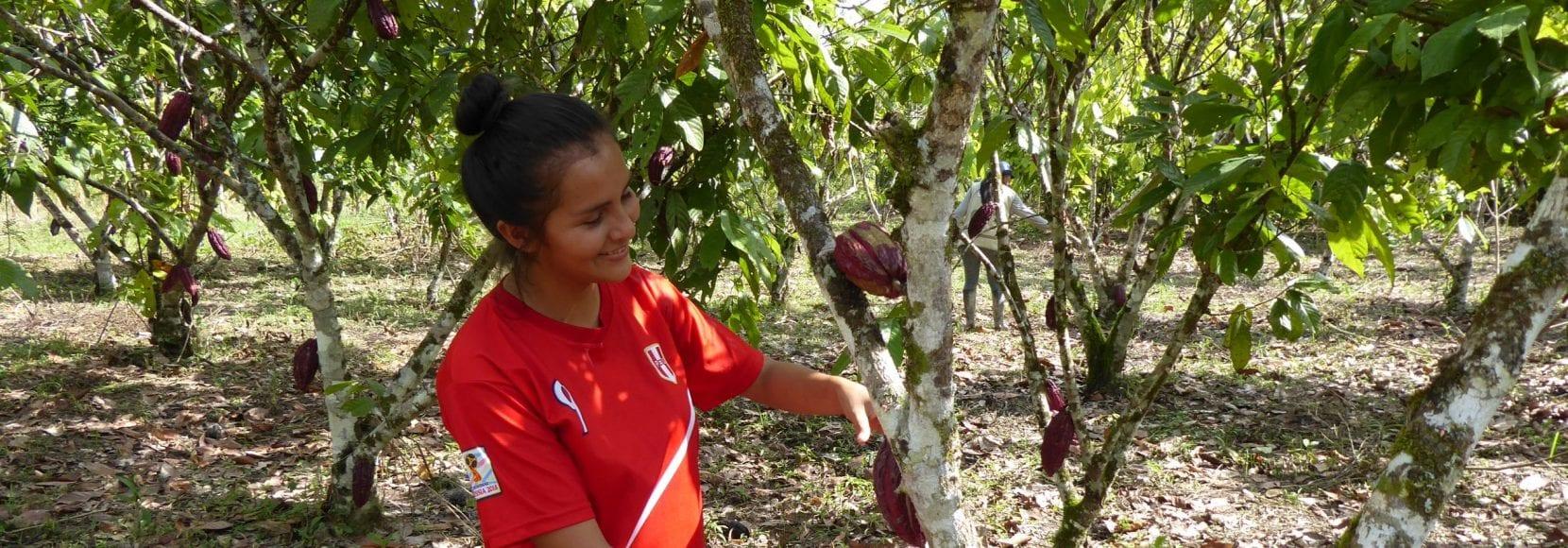 Dara Obispo, cocoa farmer