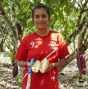 Dara Obispo cocoa farmer in Peru