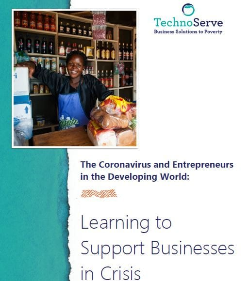 Learning to support businesses in crisis