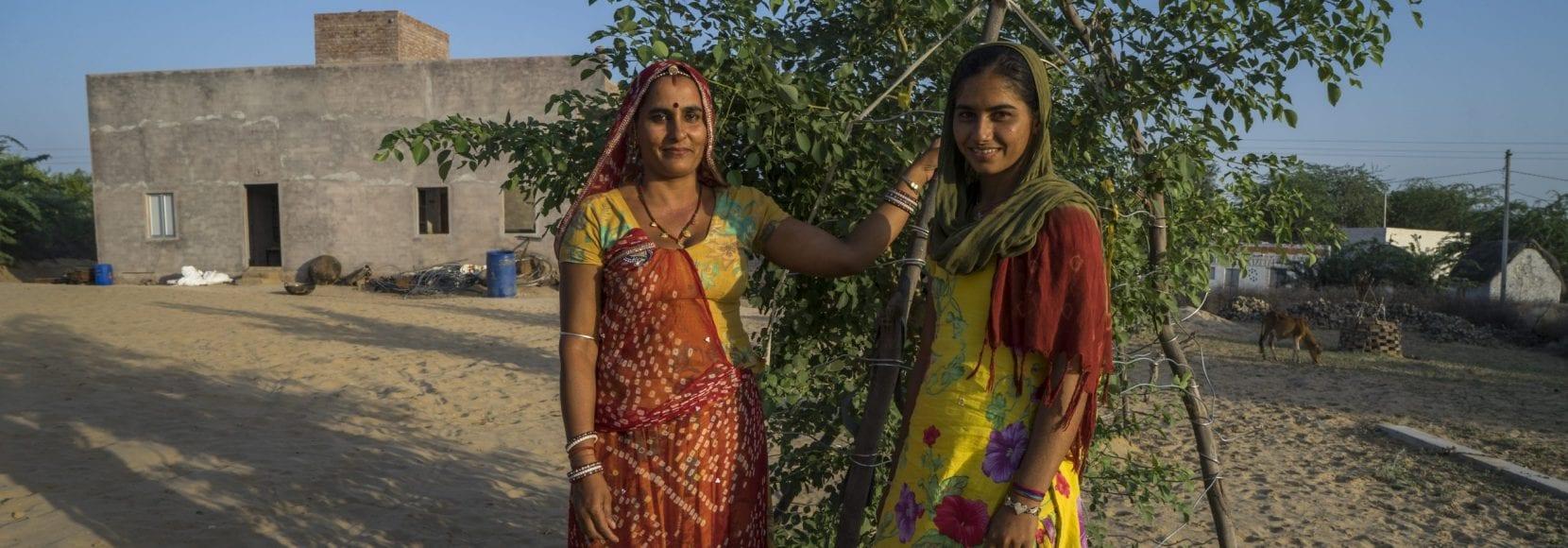 Guar farmers in India