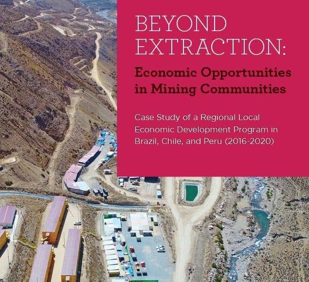Beyond extracting: Economic Opportunities in Mining Communities