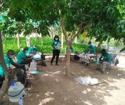 Cashew farmers in Benin