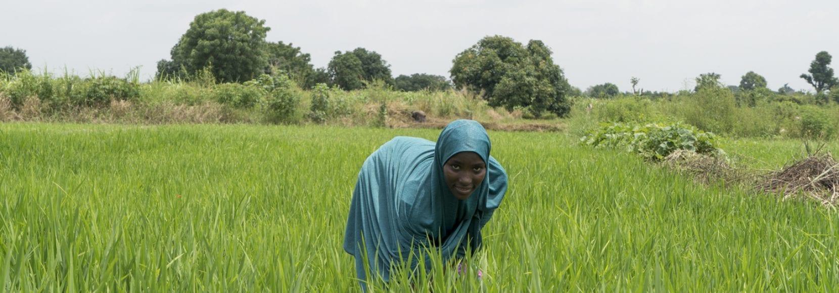 Woman in Nigeria