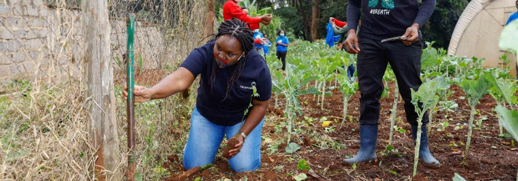 Volunteers participate in Citi's Global Community Day