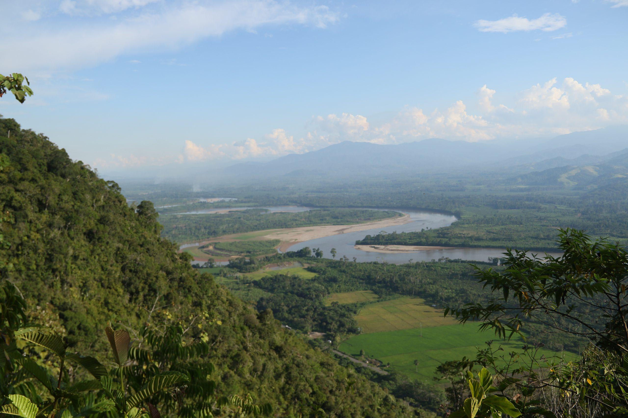 A view of the Huallaga River in Peru
