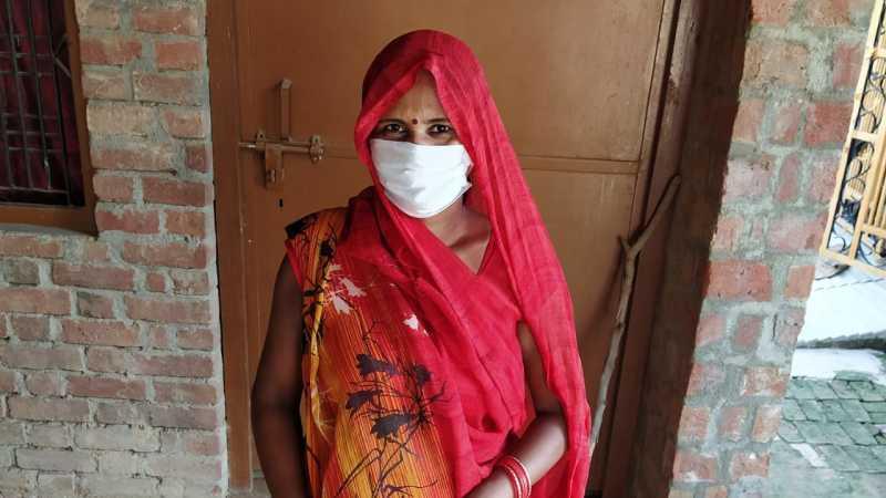 Rubi Devi is a smallholder farmer in Uttar Pradesh, India