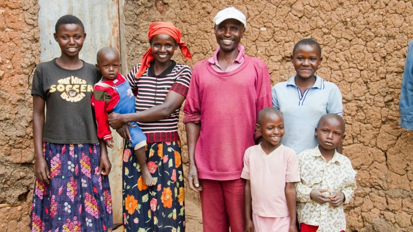 Fighting poverty means giving families like this one a fighting chance at a better life.