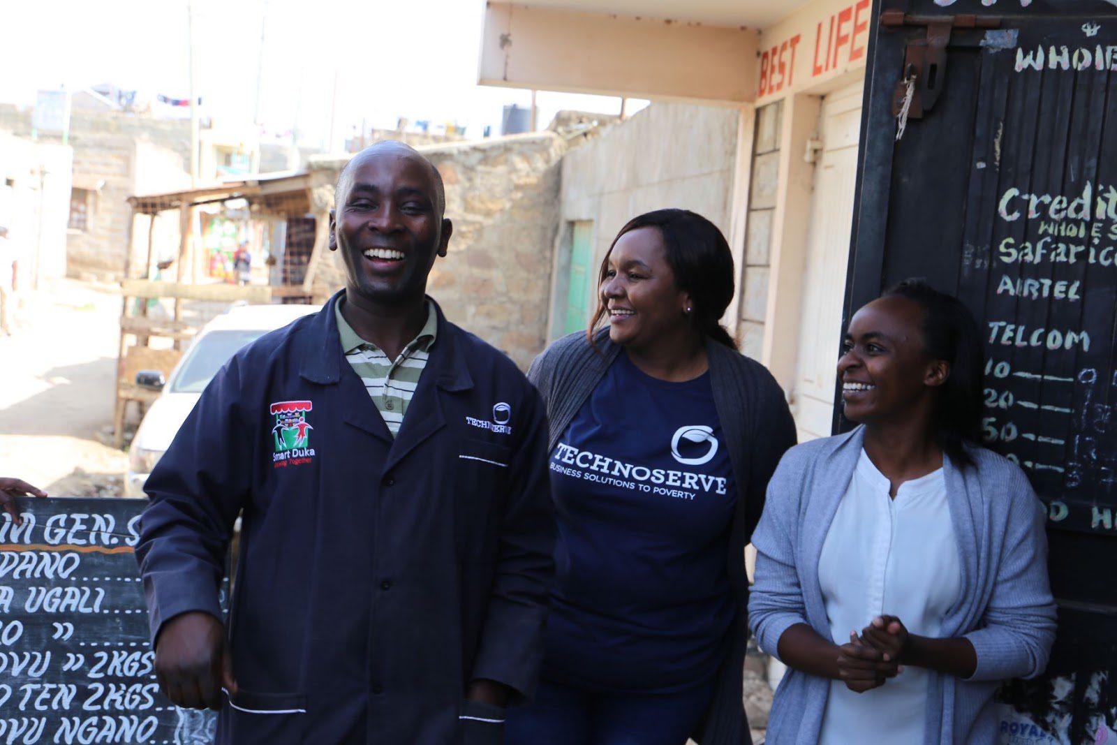 Field Visit with Program manager Alice Waweru