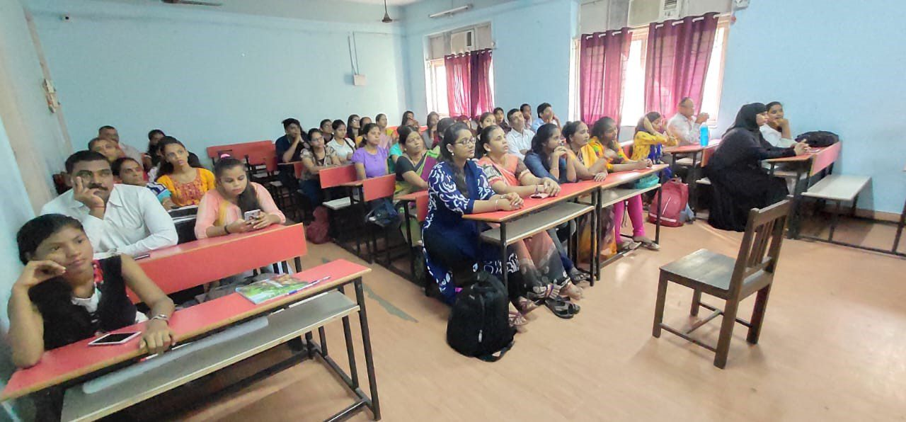 Parents of students in Mumbai attend a session as part of the Campus to Corporates program.