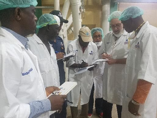 DFM, a large flour mill in Nigeria, worked with the SAPFF team to increase their supply of fortified flour.