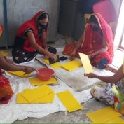 This picture offers a glimpse of what microenterprise development looks like in practice. Women entrepreneurs in India