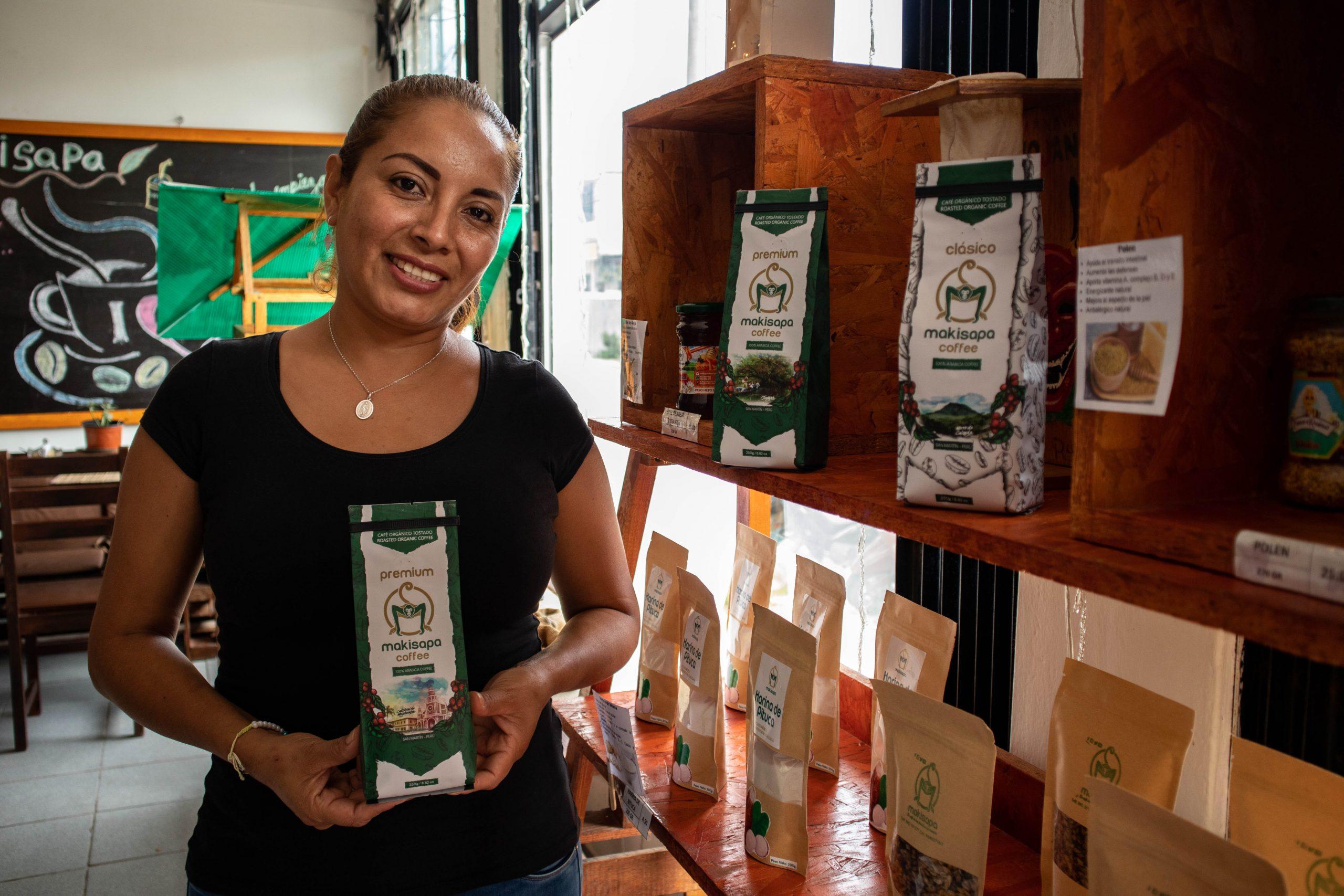Juliana Solis Baron is an entrepreneur in Peru