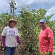 Elisa and Javier are Puerto Rican coffee farmers who participated in a TechnoServe program.