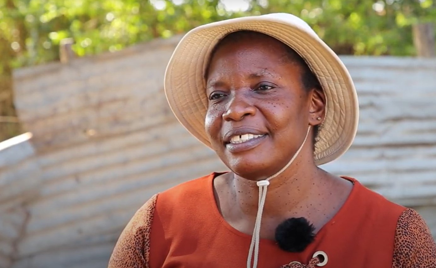 Judith Namayi Amboka is supporting entrepreneurs in Kenya through her role as a community mobilizer.