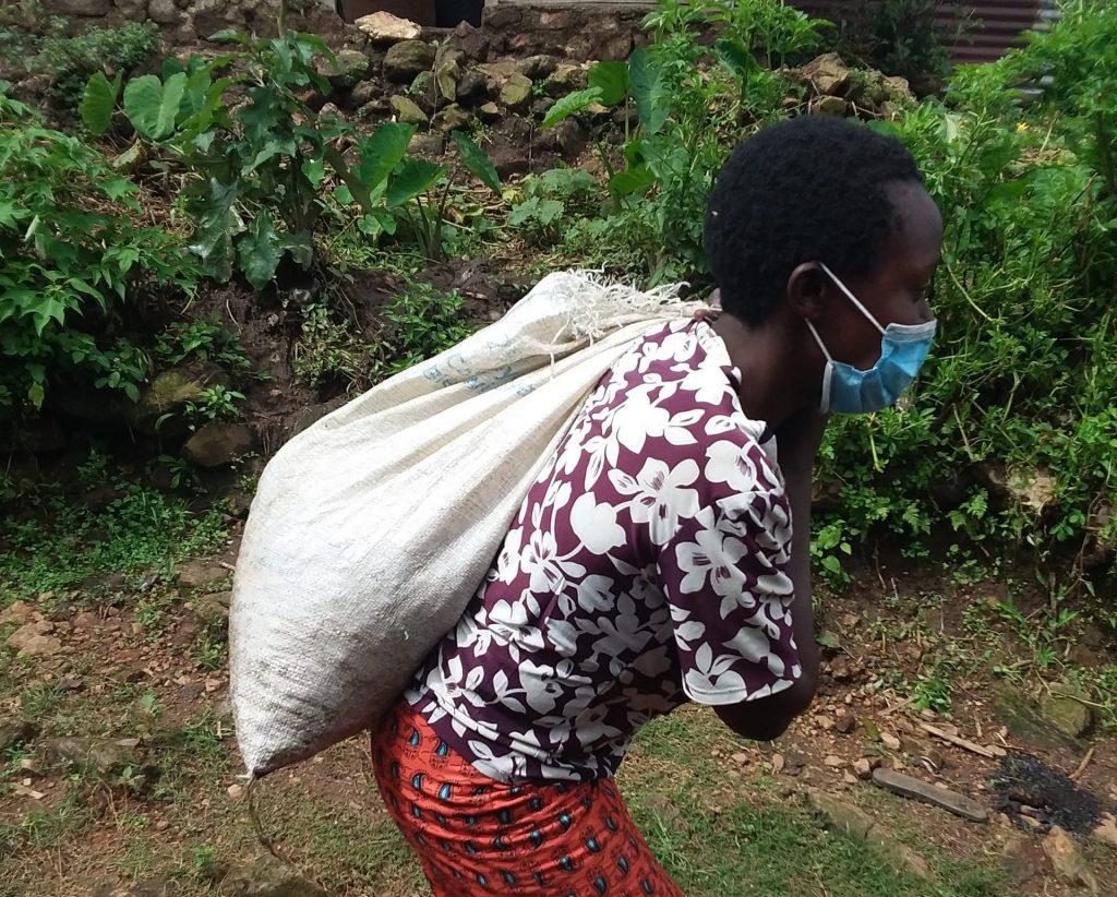 DRC coffee farmer