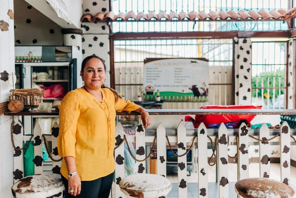 Farmers like Idalia Medina at Las Delicias in Nicaragua often struggle with food security challenges