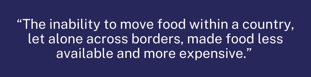 U.N. Food Security Report quote graphic 1