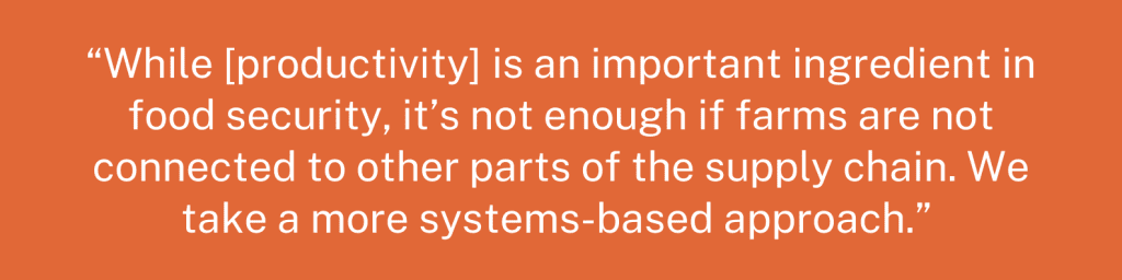 U.N. Food Security Report quote graphic 2