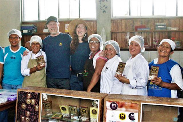 Kyle and Katina Connaughton visit Mishky Cacao