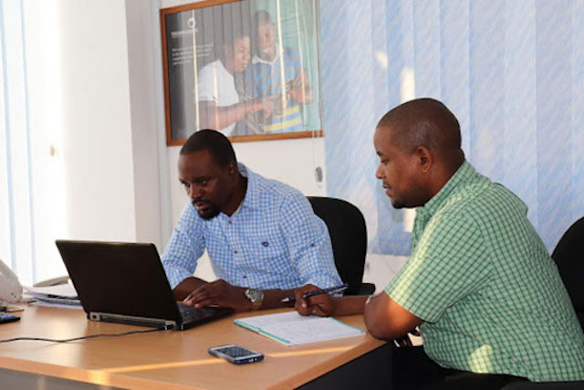 The team has a call with Partners in Food Solutions