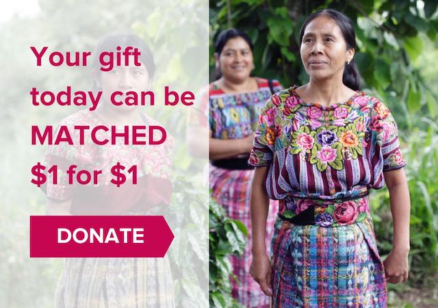 #SheFightsPoverty Matching Gift