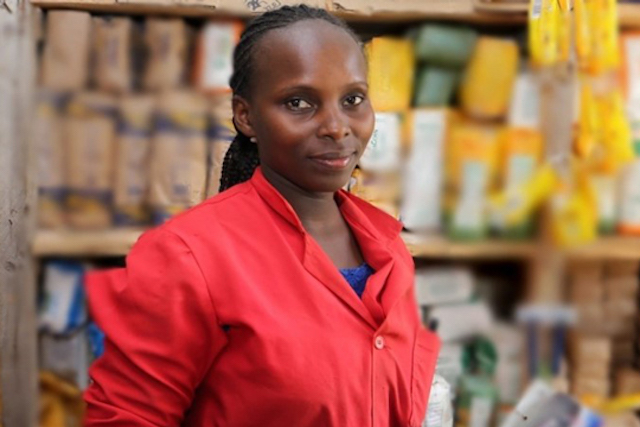 Nancy Wambui participated in the Smart Duka Initiative and increased her daily revenue from $50 to $300.