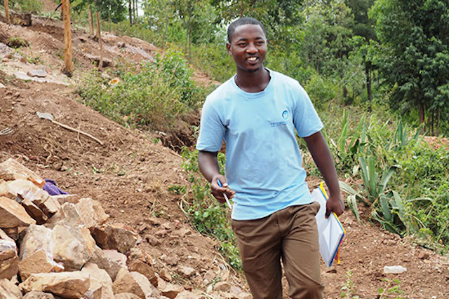 Callixte Kayiranga, a STRYDE graduate from Rwanda